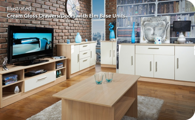 Welcome Living Room Furniture TV Unit - Wide Open