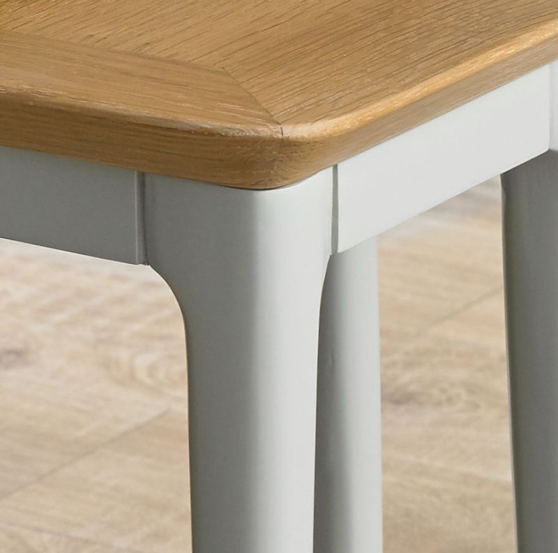 Almstead Painted Extending Dining Table