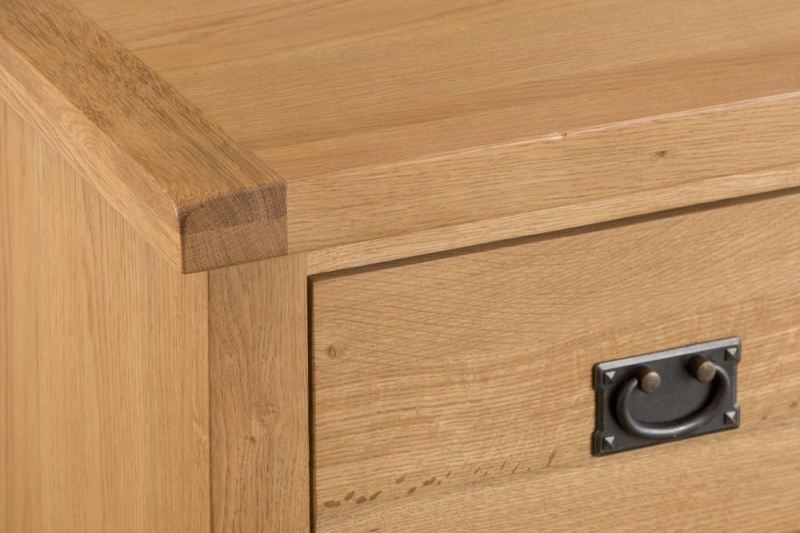 Tucson Oak 2 Door 2 Drawer Sideboard