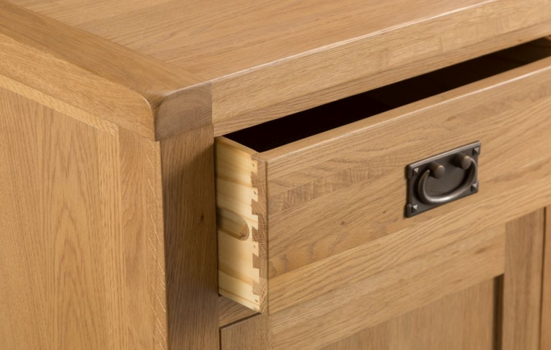Tucson Oak 2 Door 6 Drawer Sideboard