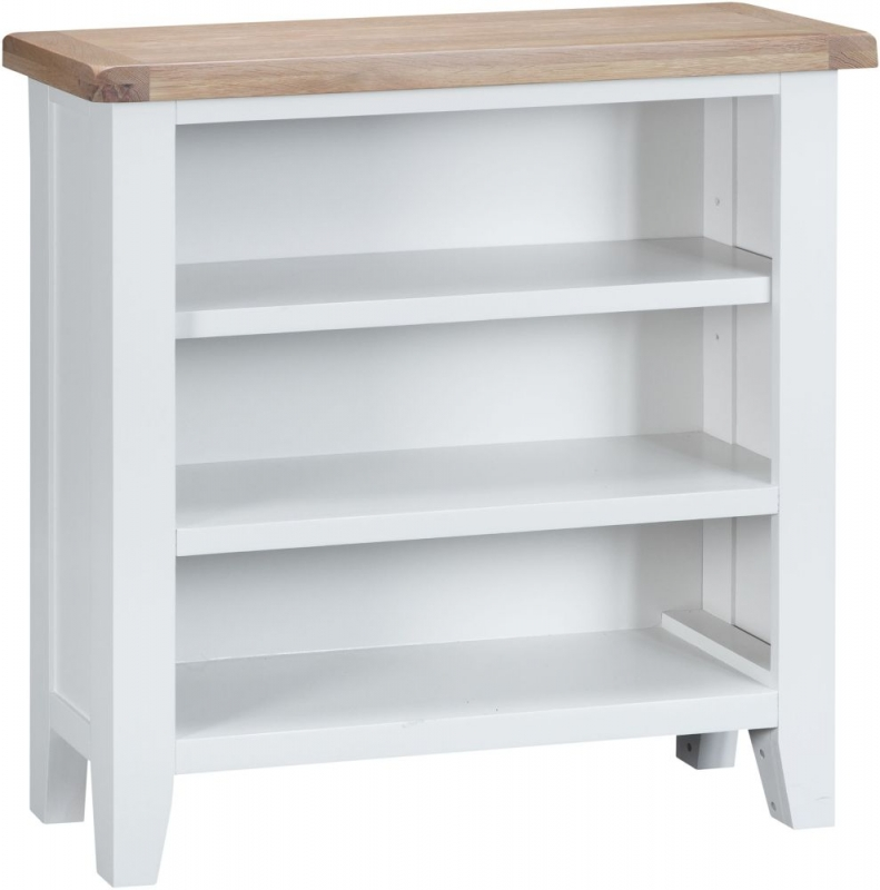 Hampstead Oak and White Painted Bookcase