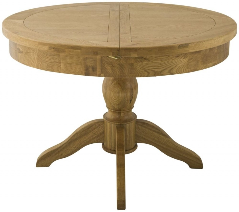 Tarland Stone Grand Dining Table - Round Butterfly Extending