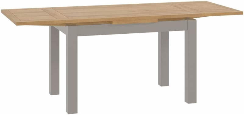 Tarland Stone Dining Table - Drop Leaf
