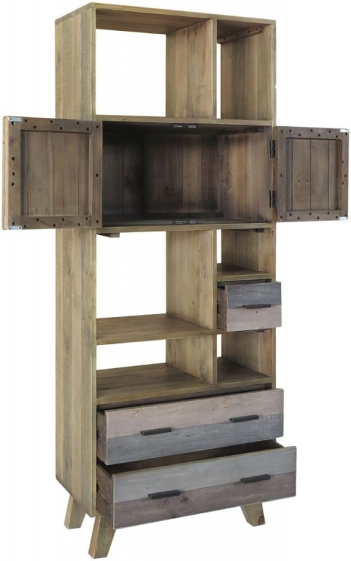 Sorrento Reclaimed Pine Large Display Unit