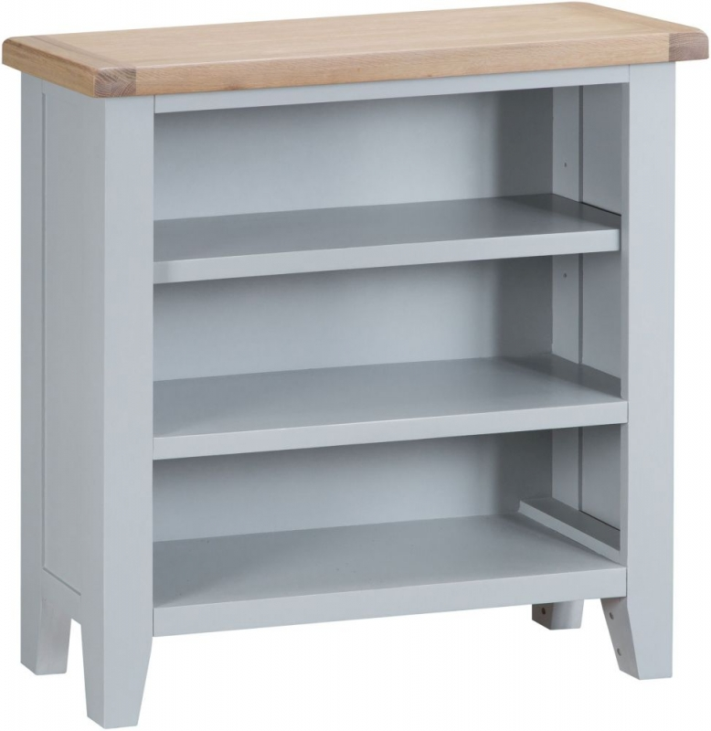 Hampstead Oak and Grey Painted Bookcase