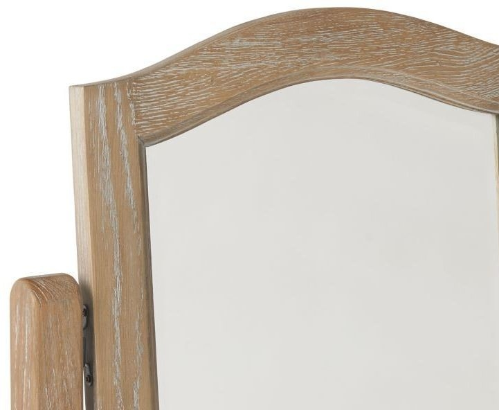 Paris Limed Oak Dressing Mirror