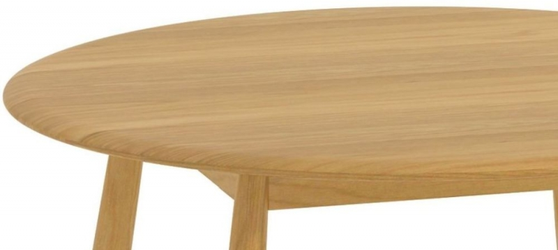 Malmo Oak 110cm Dia Round Dining Table