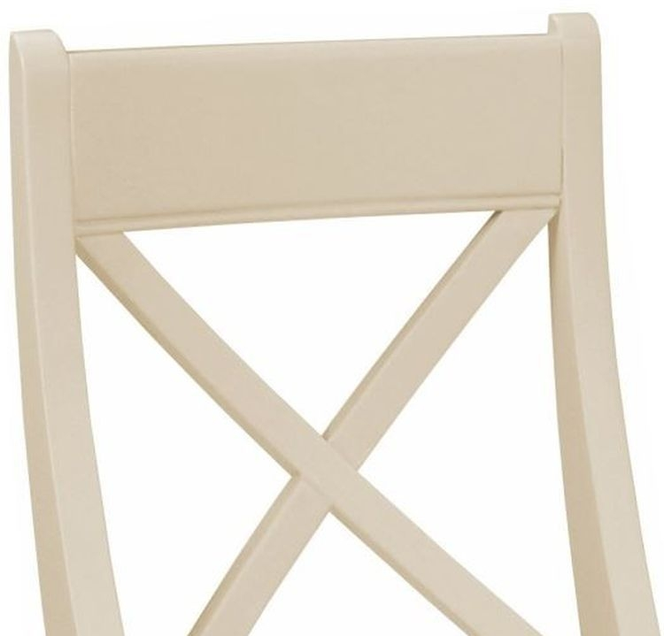 Harmony Cobblestone Bedroom Chair - Oak and Painted