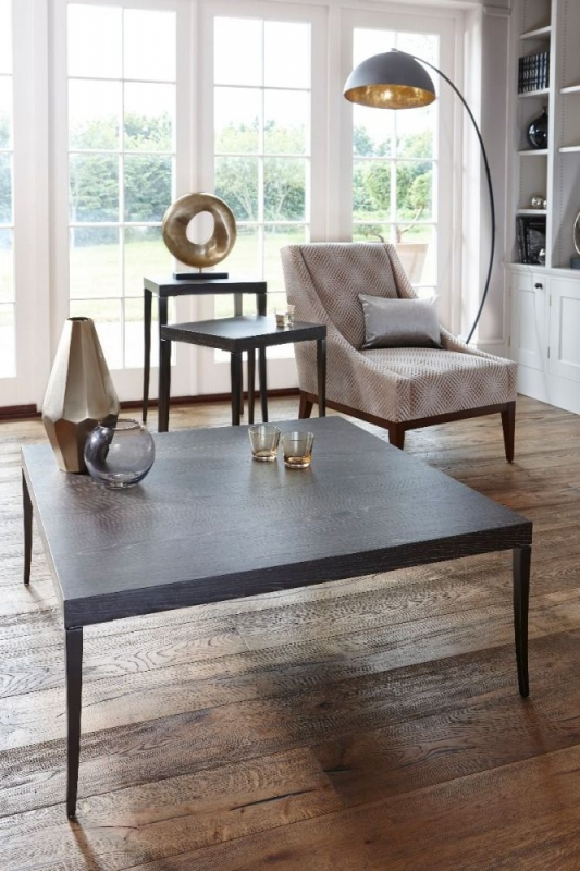 Fitzroy Charcoal Square Coffee Table