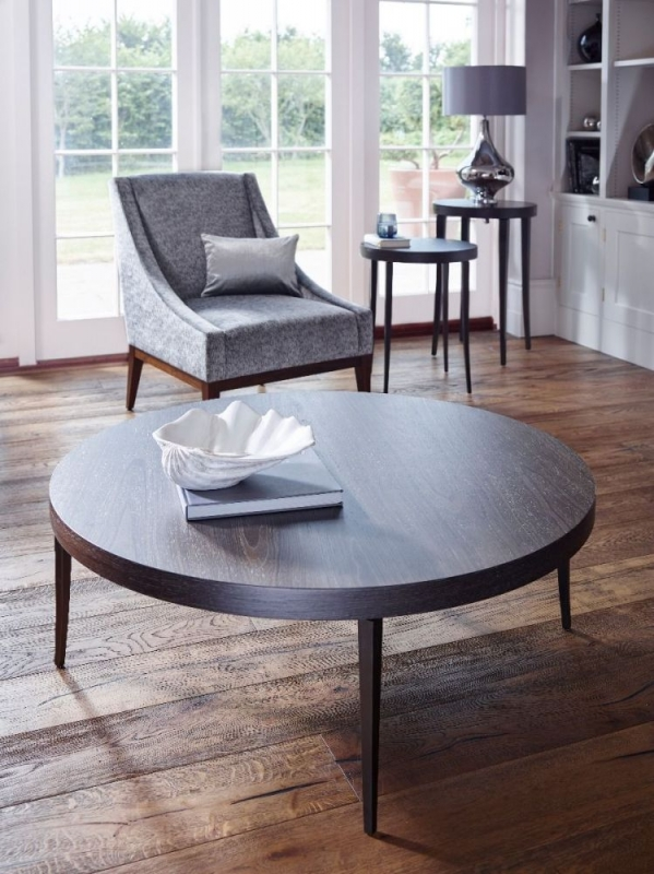Fitzroy Charcoal Round Coffee Table